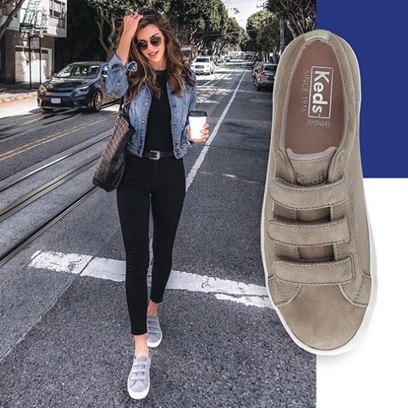 Keds Shoes | Keds Tiebreak Gray Suede